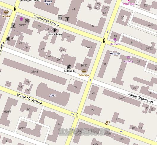 Карта Селемджинского Района Амурской Области