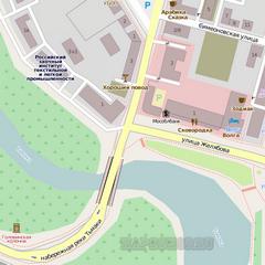 Векторная карта Ижемского района
