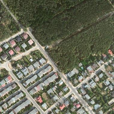 Спутниковая карта села Белое Озеро 1 см - 20 м
