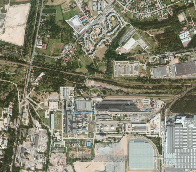 Спутниковая Карта Онлайн Кинеля Самарской Области