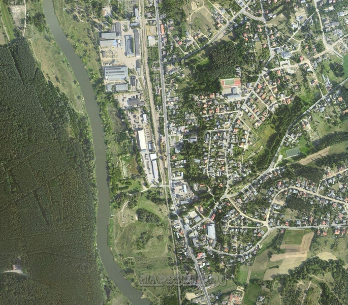 Карта Усть Пристанского Района