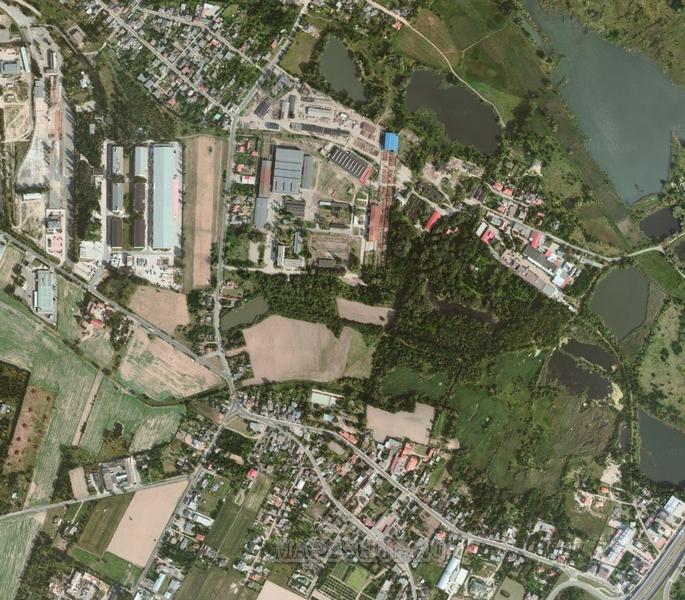 Спутниковая карта липецкой области 1