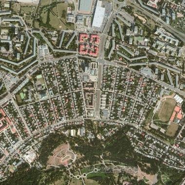 Самая Новая Спутниковая Карта Новокузнецка