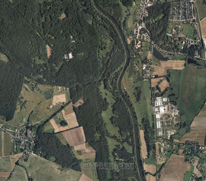 Спутниковая карта Хабаровского