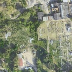 Спутниковая карта Терского района 1 см - 20 м