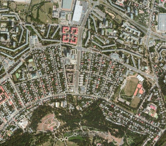 Топографическая Карта Новокузнецкого Района Кемеровской Области Подробная