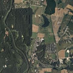 Спутниковая карта эвенкийского