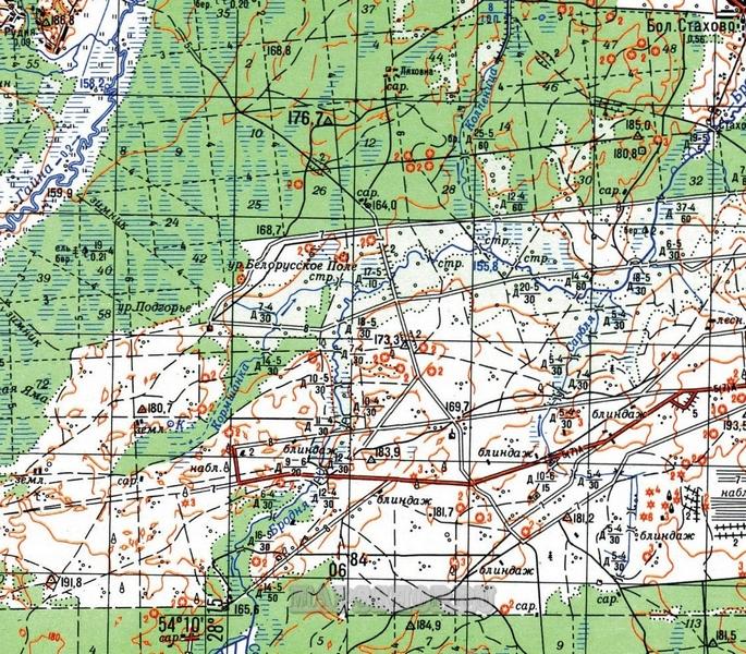 Топографическая Карта Павлодара