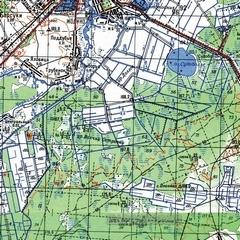 Топографическая карта ямало