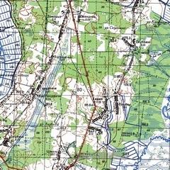 Карта нижегородской области 1 см 1 км