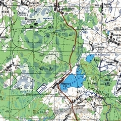 Топографическая Карта Темрюкского Района Краснодарского Края