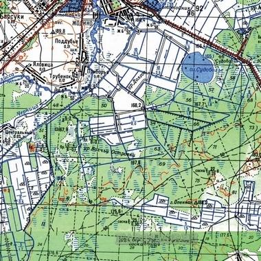 Карта улиц зеленогорска