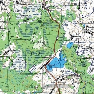 Подробная Карта Мостовского Района С Поселками