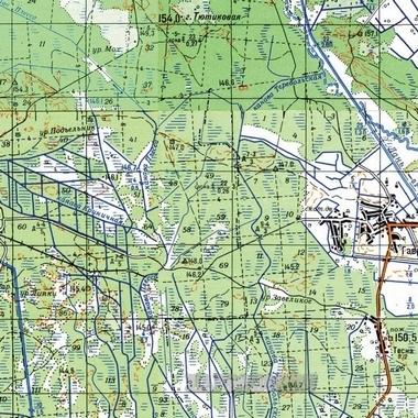 Карта Тугуро Чумиканского Района
