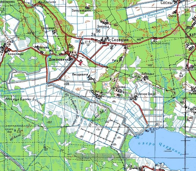 карта Красноярского края 1