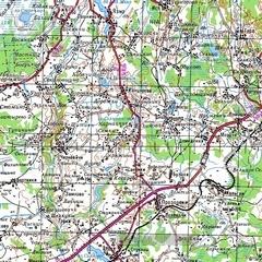 Карта ямало ненецкого ао 1 см 2 км