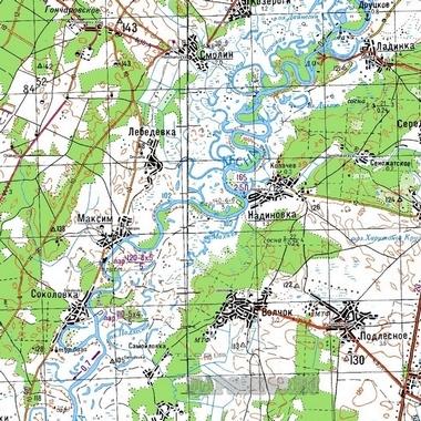 Карта схема свердловской области 746