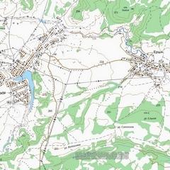 Топографическая Карта Интинского Района