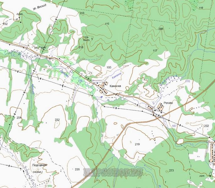 Подробная Карта Ишимского Района