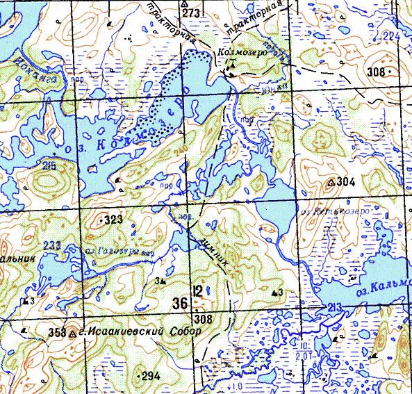карту мурманской области