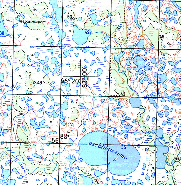Топографическая карта Беларуси 2 км - подробная карта ...: http://mapsshop.ru/product_907.html