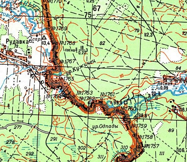 Топографическую Карту Брянской Области